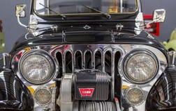 Framdel av Wyllis Jeep royaltyfri fotografi