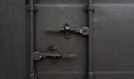 Framdel för lastbehållare Arkivbild