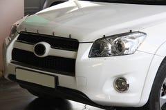 Framdel för Toyota rav 4 Royaltyfri Fotografi