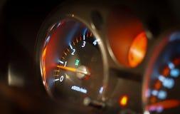 Framdel - panel av bilinstrumentbrädan Royaltyfria Bilder