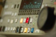 framdel - panelregistreringsapparatvideo Arkivfoton