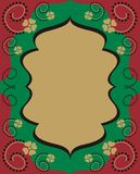 Frame árabe do estilo ilustração royalty free