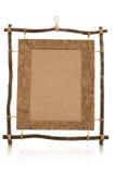 Frame étnico Handmade da foto Imagem de Stock