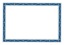 Frame. An old frame. Adobe illustrator file is available Royalty Free Stock Photo