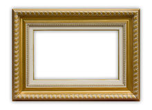 Frame. Empty picture frame isolated on white. File contains clipping path stock photos