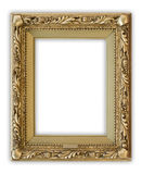 Frame. Vintage portrait frame on white background, clipping path included Royalty Free Stock Image