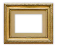 Frame. Vintage painting frame on white background, clipping path included Stock Photos