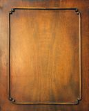 Frame. Fragment of door of old furniture as a frame royalty free stock photos