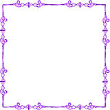 Frame. Picture frame isolated on white background /border Royalty Free Stock Images