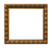 Frame. Vintage frame on white background, clipping path included Stock Image
