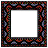 Frame tile mosaic. An exotic frame image of colourful mosaic tiles Royalty Free Stock Image