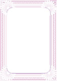 Frame. Background for diploma frame or certificate Stock Photo