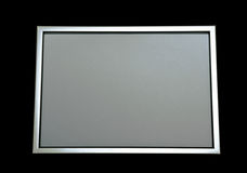 Frame. Empty frame on black background Royalty Free Stock Images