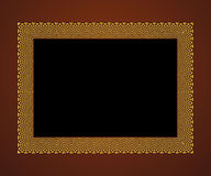 Frame 16. Elegant Frame  Illustration, Vector file easy to edit or change color Royalty Free Stock Photos