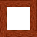 Frame. Wood frame on isolated background Royalty Free Stock Photo