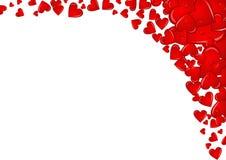 Frame 2 van het hart Stock Foto