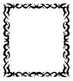 Frame. The vector image of a decorative framework Stock Photos