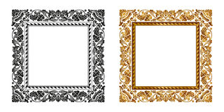 Frame. High res Vintage golden frame design in Royalty Free Stock Photo