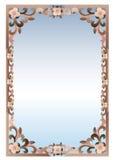 Frame. Cartoon frame on white background Royalty Free Stock Image