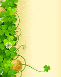 Frame 3 do dia do St. Patrick Imagens de Stock