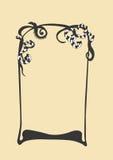Frame. A illustration of an ornamental frame royalty free illustration