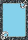 Frame. A illustration of a decorative frame royalty free illustration