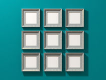 Frame 3d Stock Photography