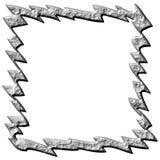 frame 3D de pedra abstrato Imagens de Stock Royalty Free