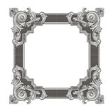 Frame. Vector illustration of frame with beautiful corners vector illustration