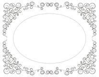 Frame. Graphic frame decoration. vector illustration Royalty Free Stock Images