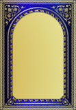 Frame. Design of a vector background in vintage style Royalty Free Stock Photos