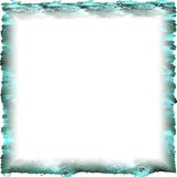 Frame. An abstract frame on white background Stock Photos