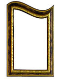 Frame. Empty distorted funny frame on white background. Digital artwork Royalty Free Stock Photo