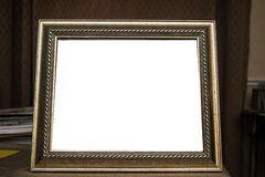 Frame 6. Frame with mate or not, can be used as a background Royalty Free Stock Photo