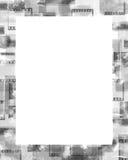 Frame. Grunge film frame stock illustration