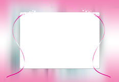 Frame. Colorful wedding frame making in photoshop Stock Photos