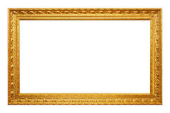 Frame. Empty picture frame stock image