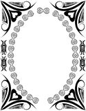 Frame. Decorative frame royalty free illustration