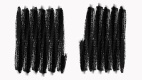 Frame - abstract paint brush strokes transition reveal with texture