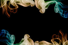 Frame abstract smoke Royalty Free Stock Images