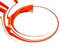Frame abstrato alta tecnologia dinâmico Imagens de Stock Royalty Free