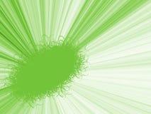 Frame abstrato com graduado verde ilustração do vetor