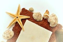 Frame abstrato da foto das férias de verão Imagens de Stock Royalty Free