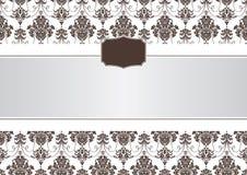 Frame abstrato do convite Fotos de Stock Royalty Free