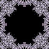 Frame abstrato do fractal ilustração do vetor