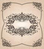 Frame abstrato do vintage Imagem de Stock