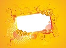 Frame abstrato para o texto Imagem de Stock Royalty Free