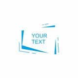 Frame abstrato para o texto Fotos de Stock