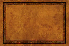 Frame with American Indian national patterns royalty free illustration