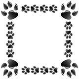 Frame animals. Illustration of frame of animals on a white background Royalty Free Stock Photo